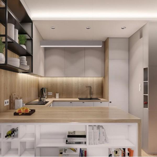 Кухня современная Софт