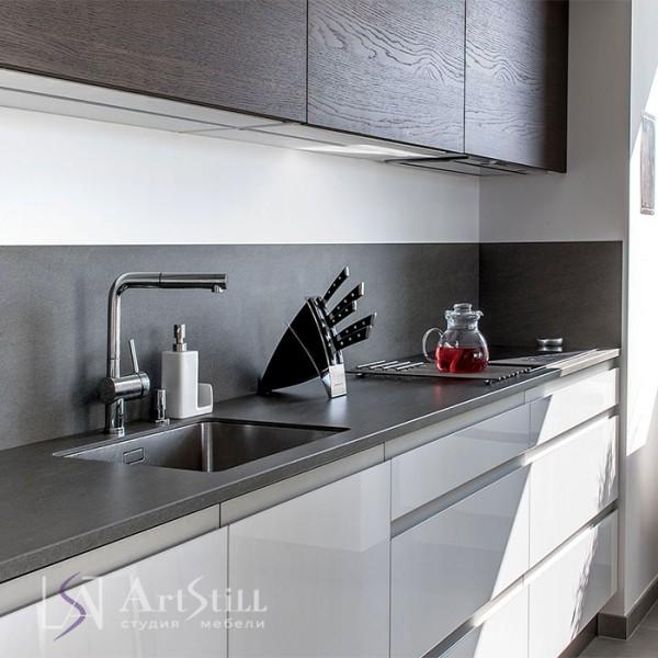 Кухня прямая Алберо-2