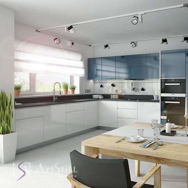 Кухня современная Азуро