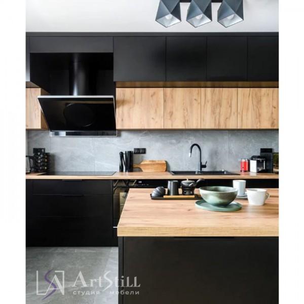 Кухня стиль лофт Гатта-2