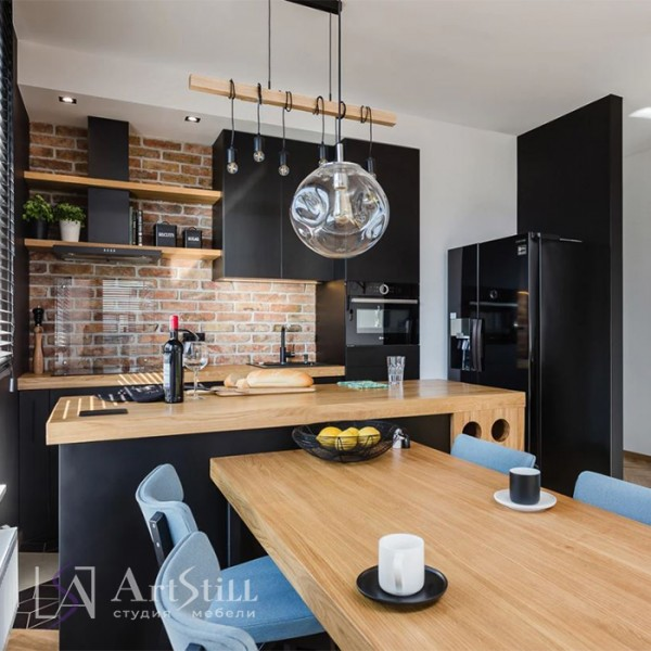 Кухня лофт Гатта-3