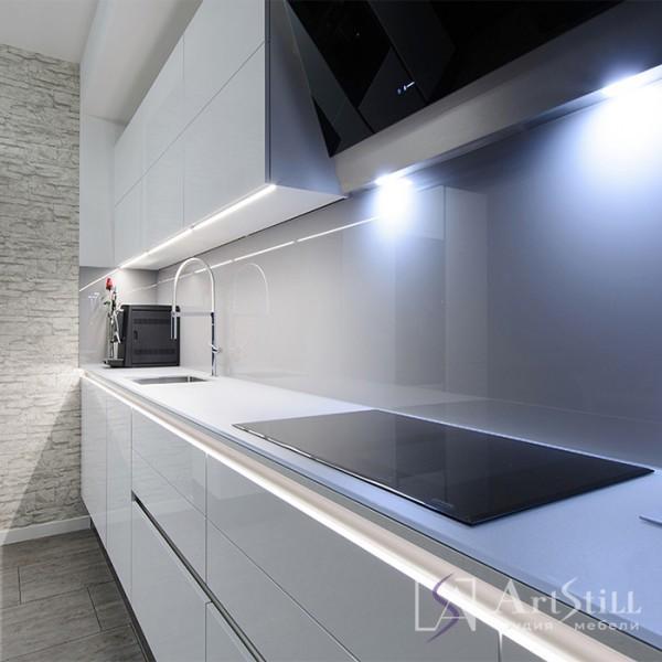 Кухня современная Глосси-5