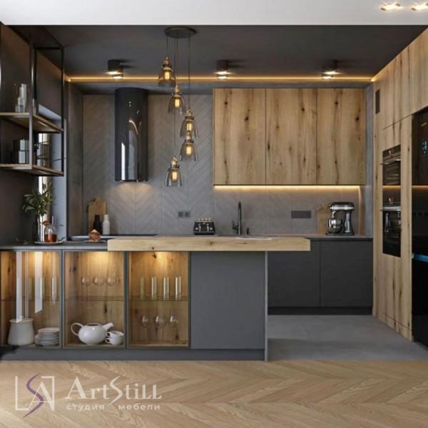 Кухня лофт Керо
