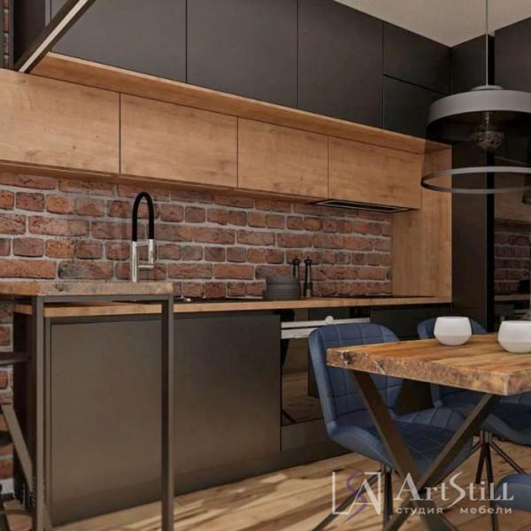 Кухня лофт Терено