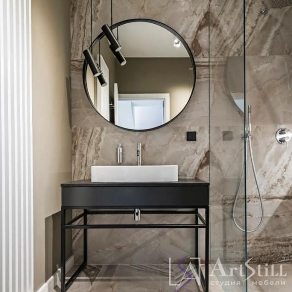 Ванная в стиле лофт Лари-4